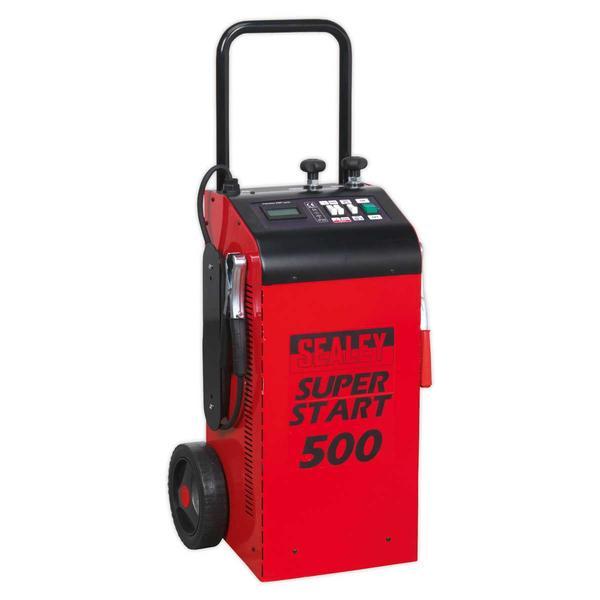 Sealey SUPERSTART500 Starter/Charger 500Amp 12/24V Thumbnail 1