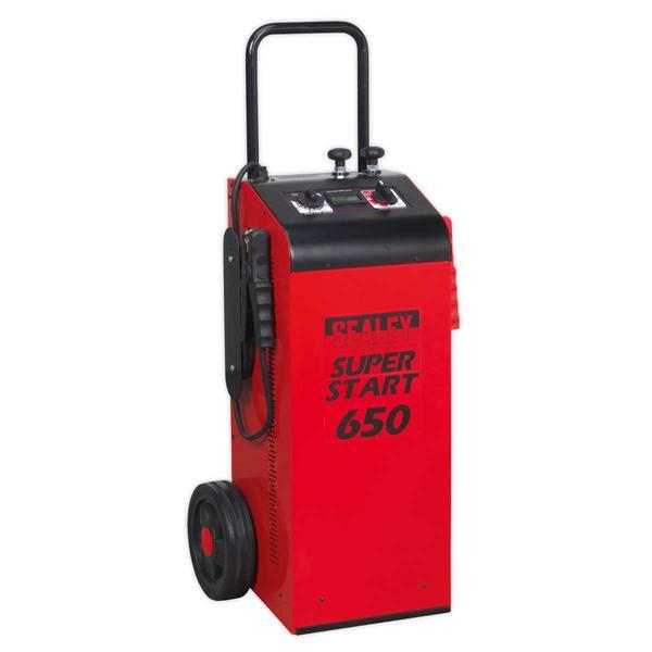 Sealey SUPERSTART650 Starter/Charger 650 Amp 12/24V Thumbnail 1