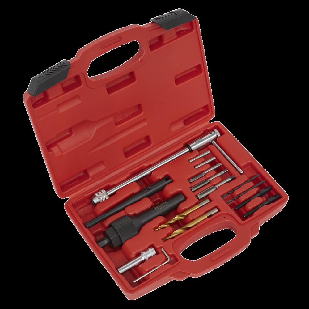 Sealey SX0408 Damaged Glow Plug Removal Set 8 & 10mm