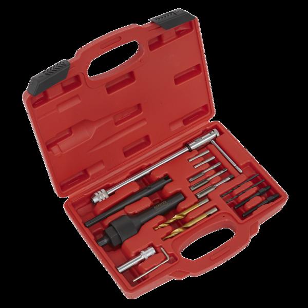 Sealey SX0408 Damaged Glow Plug Removal Set 8 & 10mm Thumbnail 1