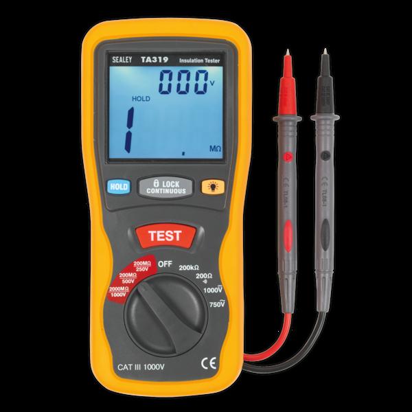 Sealey TA319 Digital Insulation Tester Thumbnail 1