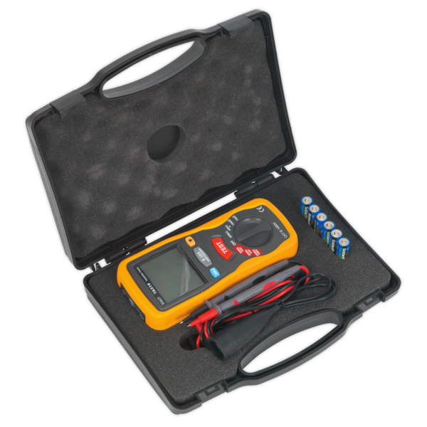 Sealey TA319 Digital Insulation Tester Thumbnail 6