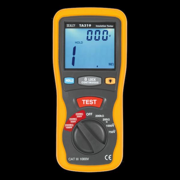 Sealey TA319 Digital Insulation Tester Thumbnail 4