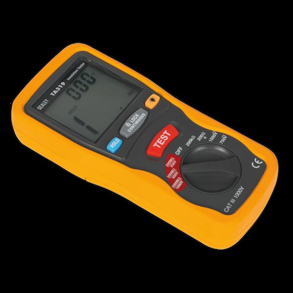 Sealey TA319 Digital Insulation Tester Thumbnail 5