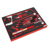 Sealey TBTP06EU Tool Tray with Hacksaw, Hammers & Punches (13 Piece)