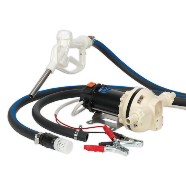 Sealey TP9912 AdBlue® Transfer Pump Portable 12V Thumbnail 1