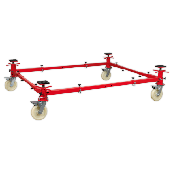 Sealey VMD002 Vehicle Moving Dolly 4 Post 900kg Thumbnail 4