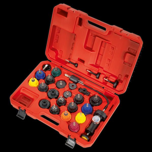 Sealey VS0011 Cooling System Pressure Test Kit 25pc Thumbnail 2