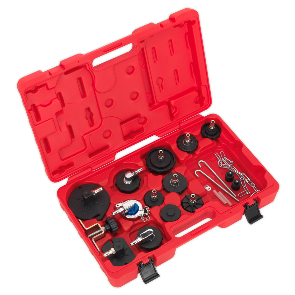 Sealey VS0204B Brake & Clutch Bleeder Cap Set
