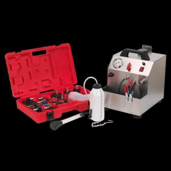 Sealey VS0207 Brake & Clutch Pressure Bleeder Kit 12V Thumbnail 1