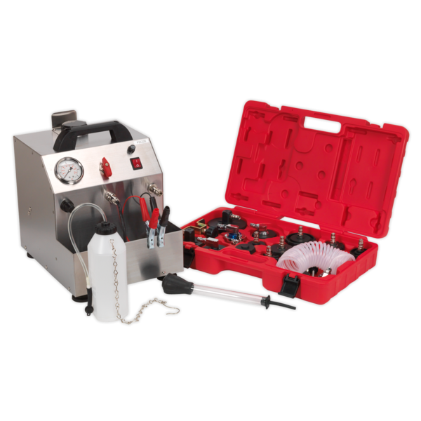 Sealey VS0207 Brake & Clutch Pressure Bleeder Kit 12V Thumbnail 2