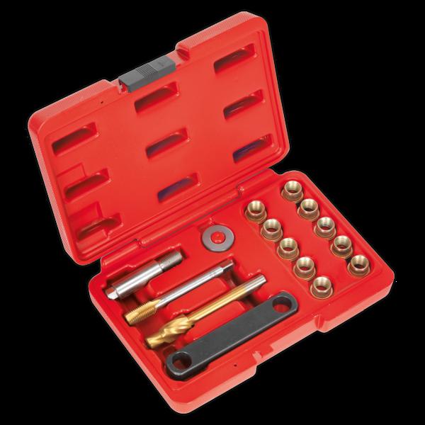 Sealey VS0463 Brake Caliper Thread Repair Kit M12 x 1.5mm Thumbnail 1