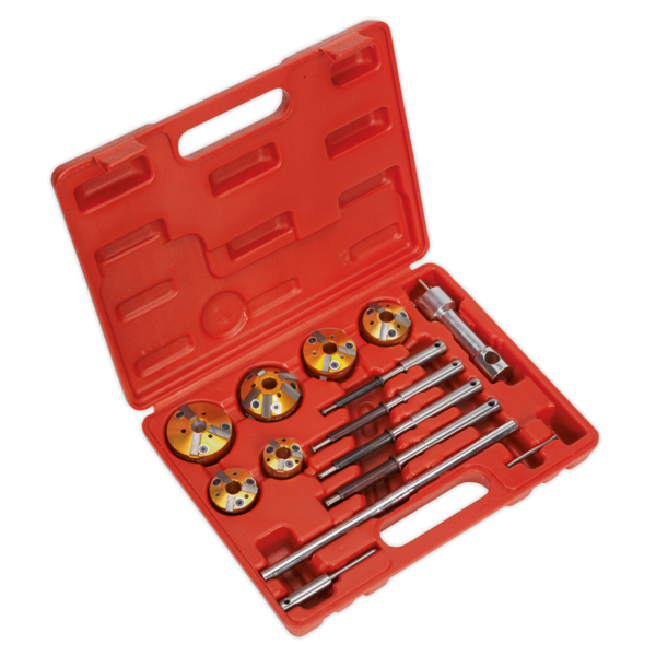 Sealey VS1825 Valve Seat Cutter Set 14pc Thumbnail 1