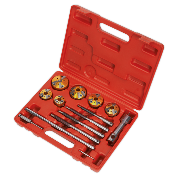 Sealey VS1825 Valve Seat Cutter Set 14pc Thumbnail 2