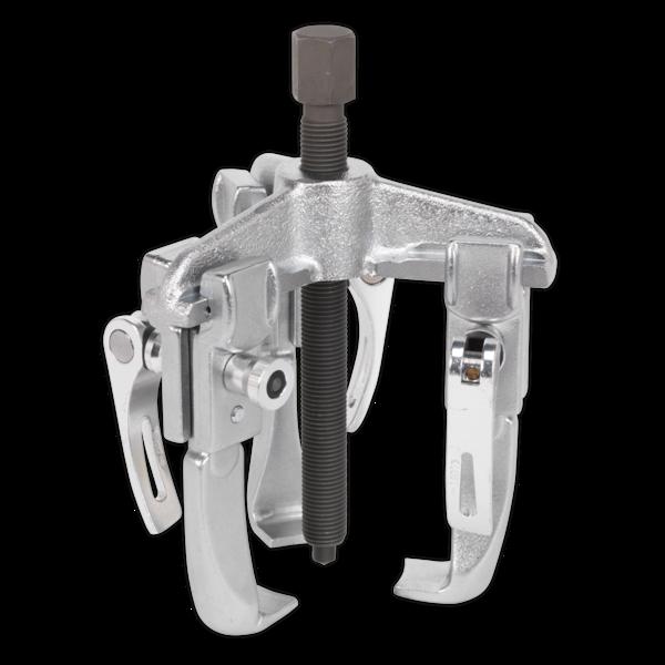 Sealey VS91 Triple Leg Puller 160mm Quick Release Thumbnail 1
