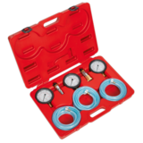 Sealey VS932 Air Brake Test Gauge Set - Commercial