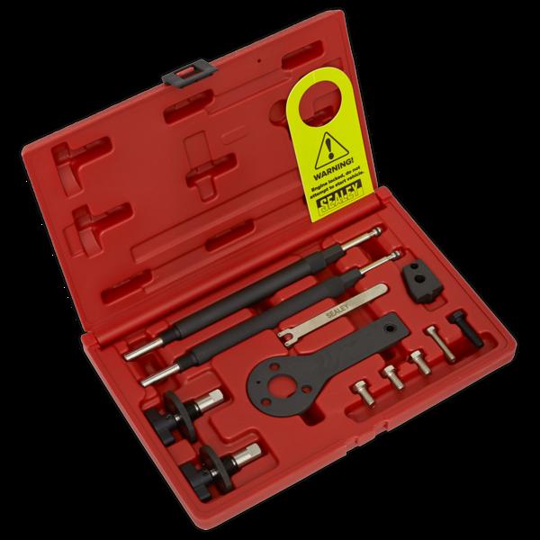 Sealey VSE2511A Petrol Engine Setting/Locking Kit - Alfa Romeo, Fiat, Lancia 1.2, 1.4 16v, 1.4 T-Jet - Belt Drive Thumbnail 1