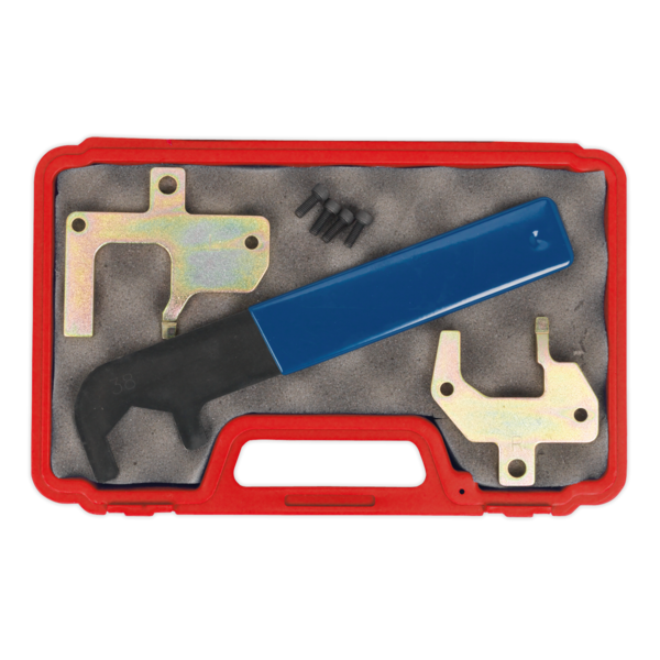 Sealey VSE4808 Camshaft Locking Kit - Mercedes Petrol Engines - Chain Drive Thumbnail 3
