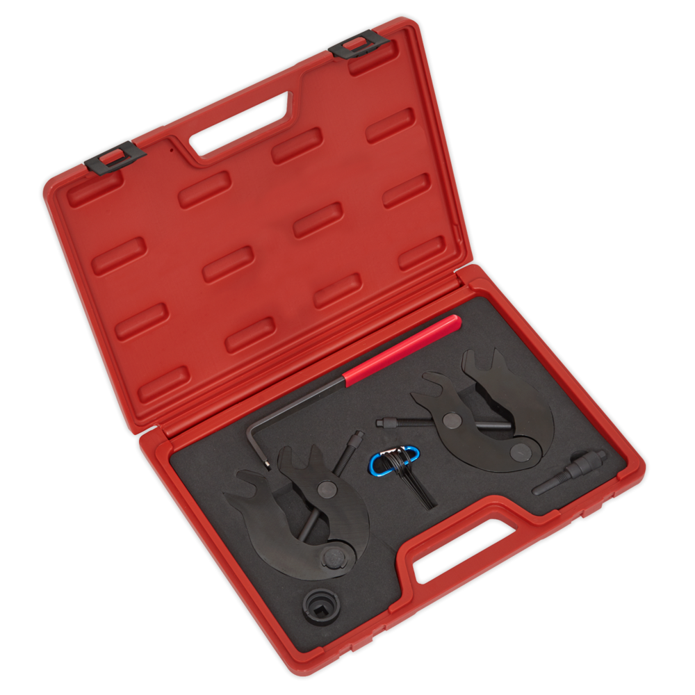 Sealey VSE5051A Petrol Engine Setting/Locking Kit Audi 3.0 V6 30v Belt Drive