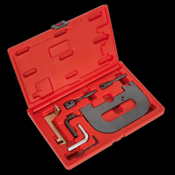 Sealey VSE5071A Petrol Engine Setting/Locking Kit - Renault 1.4, 1.6, 1.8, 2.0 16v K4J, K4M, F4P, F4R(t) - Belt Drive Thumbnail 1