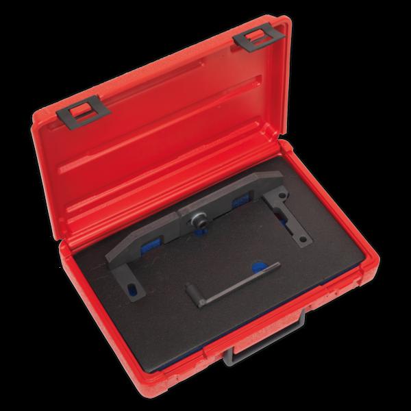 Sealey VSE5092 Petrol Engine Setting/Locking Kit - Citroen, Peugeot 1.0 VTi, 1.2 VTi - Belt Drive Thumbnail 1