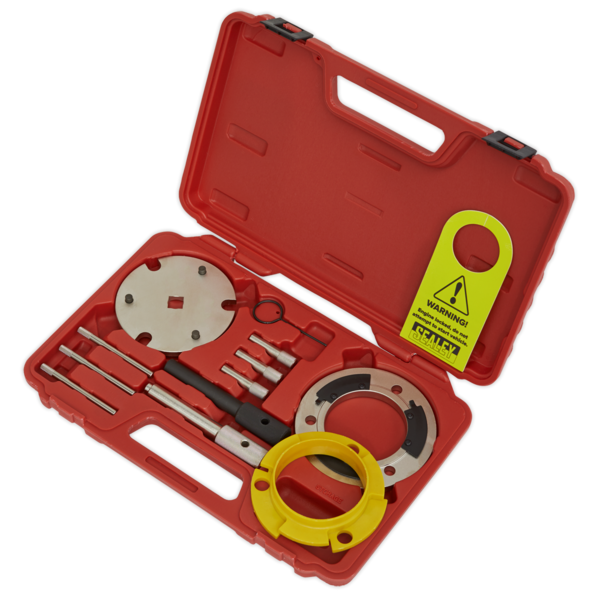 Sealey Diesel Engine Setting/Locking & Injection Pump Tool Kit Chain Drive Thumbnail 2