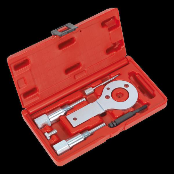 Sealey VSE5886A Diesel Engine Setting/Locking Kit - Vauxhall/Opel, Saab 1.9D CDTi/TiD/TTiD, 2.0D CDTi - Belt Drive Thumbnail 1
