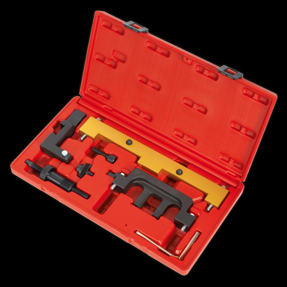 Sealey Petrol Engine Setting/Locking Kit BMW 1.8, 2.0 N42/N46/N46T Chain Drive