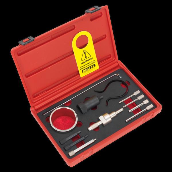 Sealey VSE5946 Petrol Engine Setting/Locking Kit Citroen, Peugeot Belt Drive Thumbnail 1