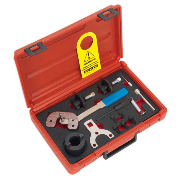 Sealey Diesel Engine Setting/Locking Kit Alfa Romeo Ford  PSA Suzuki Chain Drive Thumbnail 1