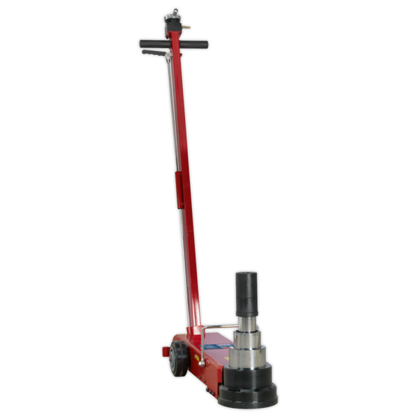 Sealey YAJ10-40LELR Air Operated Jack 40tonne Telescopic Long Reach/Low Entry Thumbnail 3