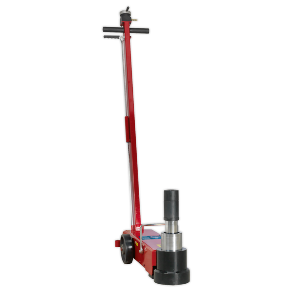 Sealey YAJ15-30LE Air Operated Jack 30tonne Telescopic Long Reach Low Entry Thumbnail 3