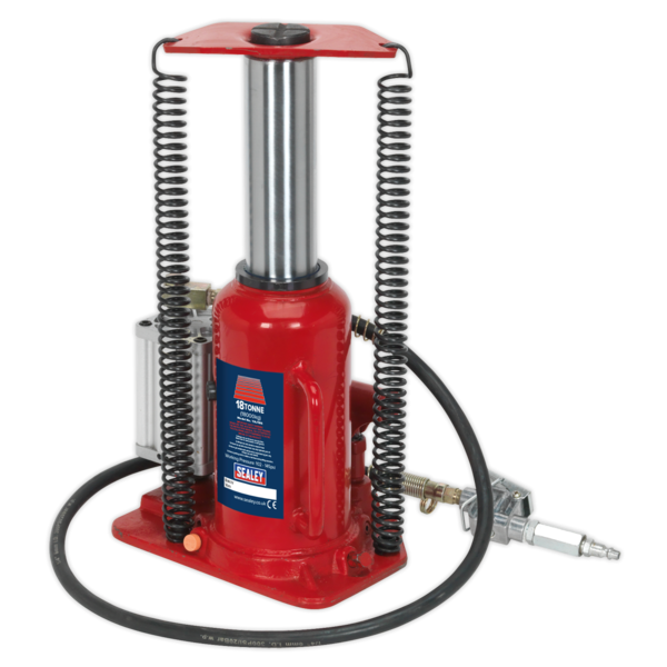 Sealey YAJ18S Air Operated Bottle Jack 18tonne Thumbnail 3