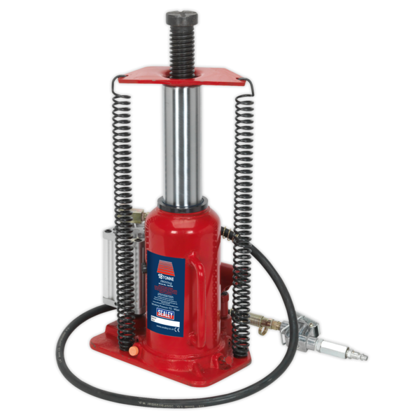 Sealey YAJ18S Air Operated Bottle Jack 18tonne Thumbnail 7