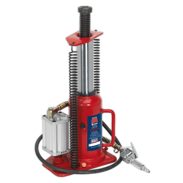 Sealey YAJ18S Air Operated Bottle Jack 18tonne Thumbnail 6