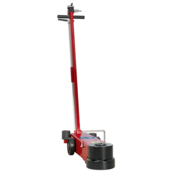 Sealey YAJ20-60LR Air Operated Jack 60tonne Telescopic Long Reach Low Entry Thumbnail 1