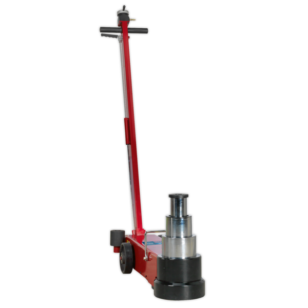 Sealey YAJ20-60LR Air Operated Jack 60tonne Telescopic Long Reach Low Entry Thumbnail 2