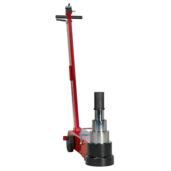 Sealey YAJ20-60LR Air Operated Jack 60tonne Telescopic Long Reach Low Entry Thumbnail 3