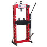 Sealey YK20FFP Hydraulic Press Premier 20 Tonne Floor Type with Foot Pedal