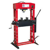 Sealey YK50FFP Hydraulic Press Premier 50 Tonne Floor Type with Foot Pedal