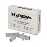 Fixman 947082 Type 90 Staples 5000pk
