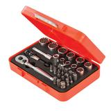 Dickie Dyer 758502 Spline Socket & Bit Set (32 Piece)