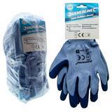 Silverline 427550 Pair of Latex Builders Gloves (Large) Pack of 12