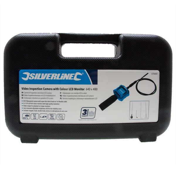 Silverline 676660 Video Inspection Camera with Colour LCD Monitor Thumbnail 4
