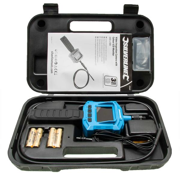 Silverline 676660 Video Inspection Camera with Colour LCD Monitor Thumbnail 1