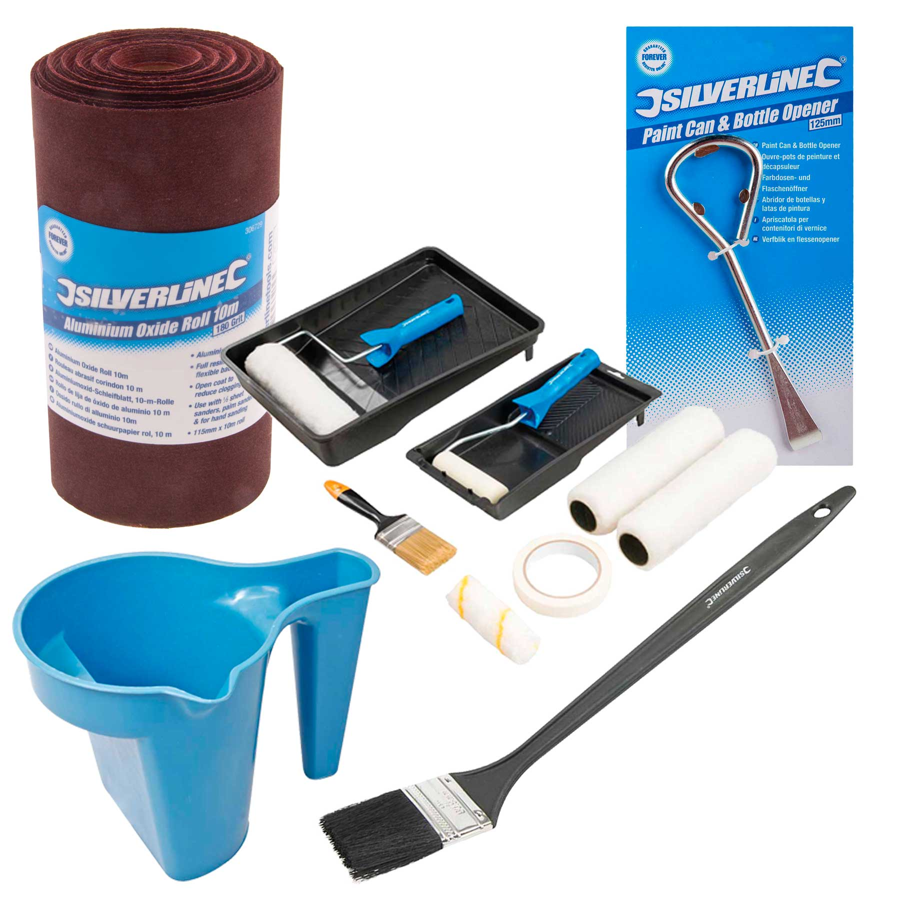 Silverline painting decorating kit silverline painting for Decoration kit