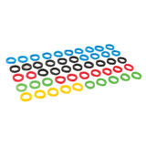 Silverline 431620 Coloured Plastic Key Covers 50pk