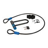 Silverline 712996 U-Lock & Cable Set