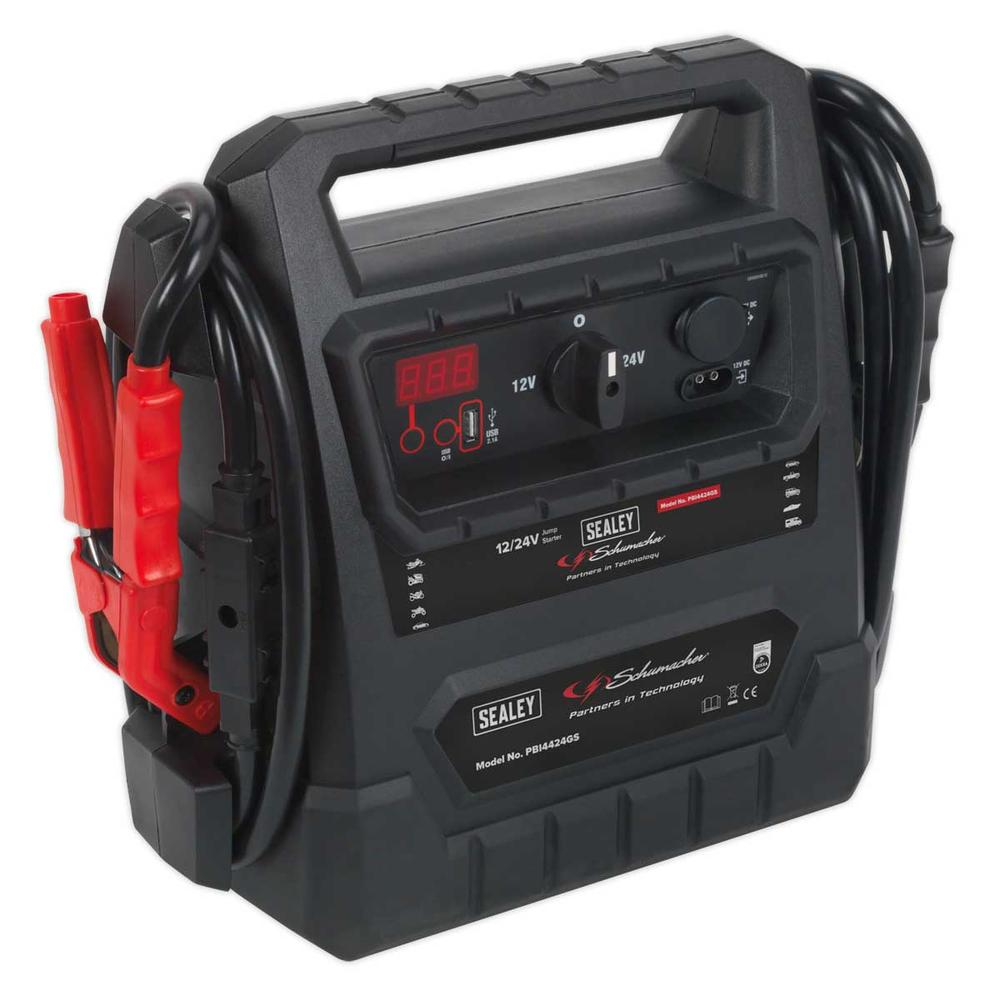 Sealey PBI4424GS RoadStart Emergency Jump Starter 12/24V 4600 Peak Amps