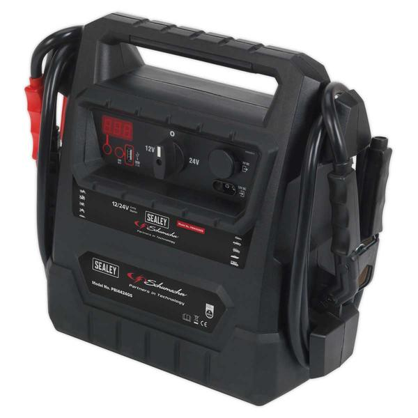Sealey PBI4424GS RoadStart Emergency Jump Starter 12/24V 4600 Peak Amps Thumbnail 3